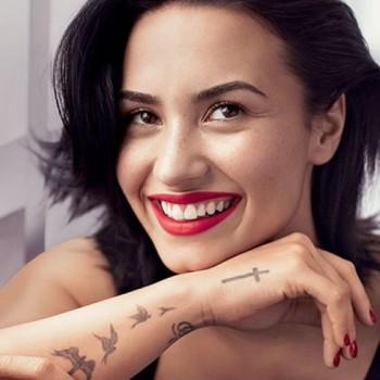 On The Cover - Demi Lovato For Allure Magazine February 2016 2