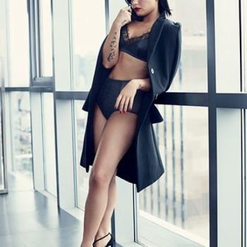 On The Cover - Demi Lovato For Allure Magazine February 2016