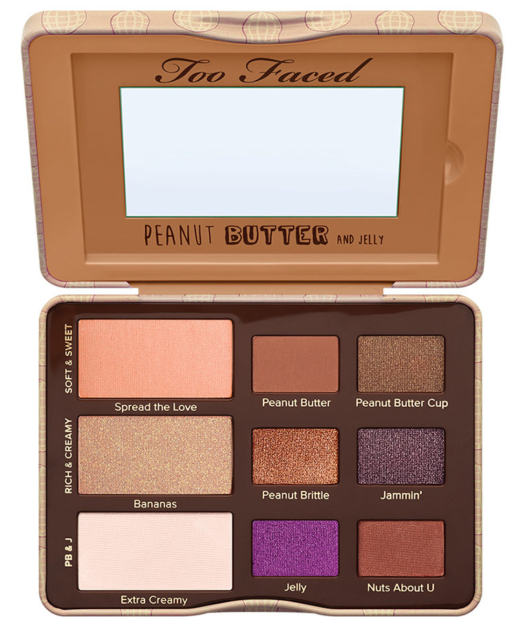 Too Faced Peanut Butter & Jelly Eye Shadow Palette for Spring 2016