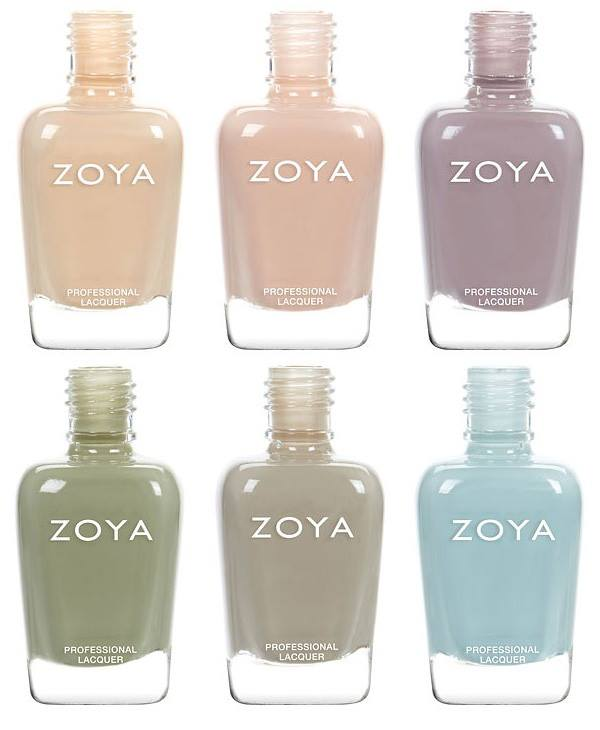 Zoya Whispers Spring 2016 Nail Polish Collection 3 - Fashion Trend ...