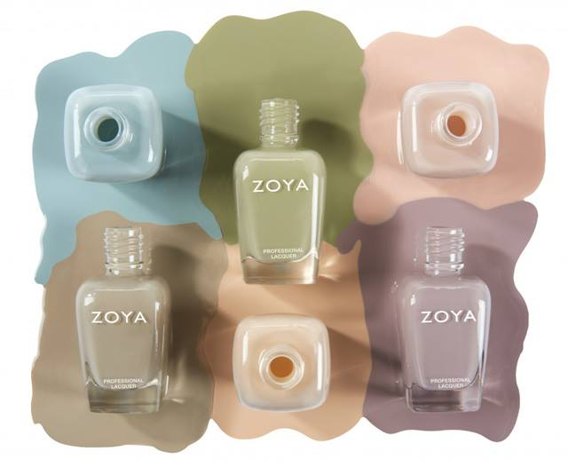 Zoya Whispers Spring 2016 Nail Polish Collection