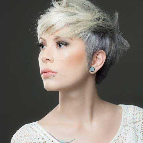 Short haircuts for white women