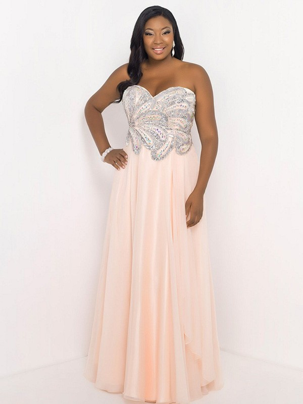 2016 plus size prom dress trends 11