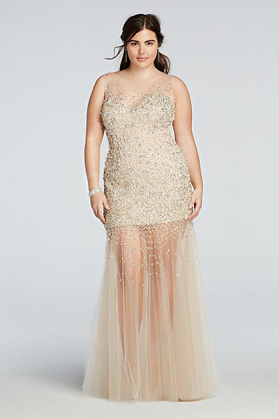 2016 plus size prom dress trends 21