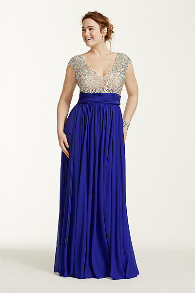 2016 plus size prom dress trends 22