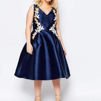 2016 plus size prom dress trends 4