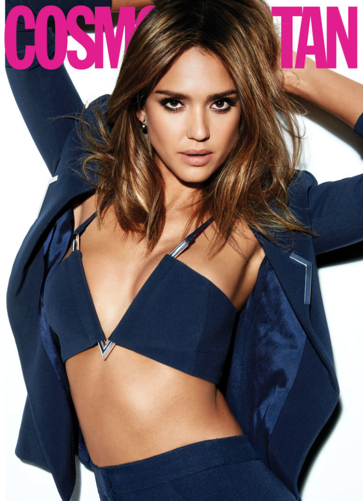 Jessica Alba for Cosmopolitan March 2016 Issue 2