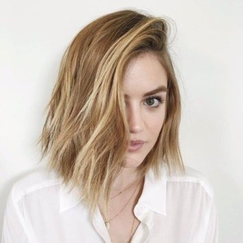 Lucy Hale Does the Unexpected and Dyes Hair Blonde 2