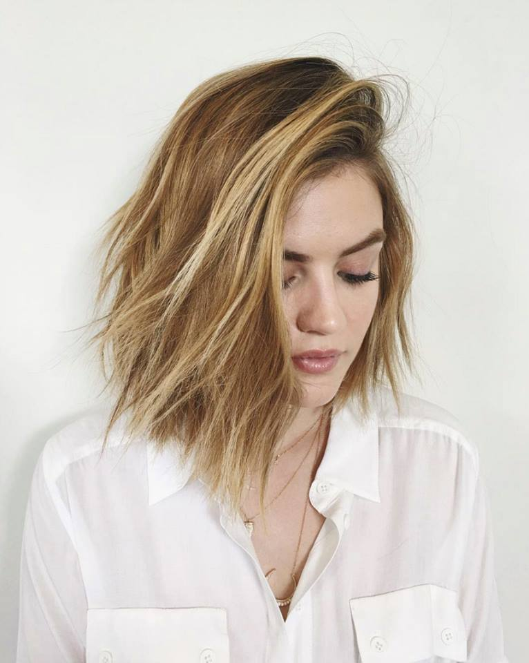 Lucy Hale Does the Unexpected and Dyes Hair Blonde