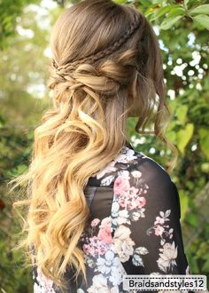 2016 Half Up Half Down Prom Hairstyles 13