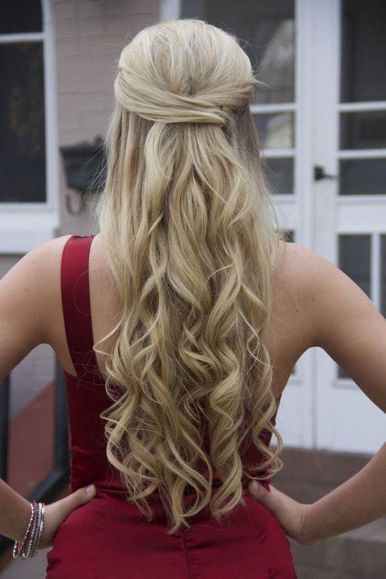2016 Half Up Half Down Prom Hairstyles Fashion Trend Seeker