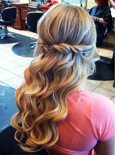 2016 Half Up Half Down Prom Hairstyles 3
