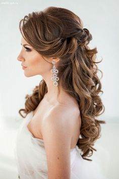 2016 Half Up Half Down Prom Hairstyles 4