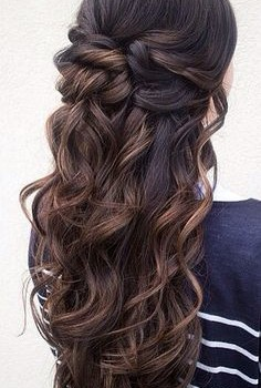2016 Half Up Half Down Prom Hairstyles 5