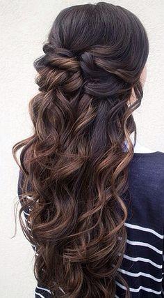 Magnificent Hairstyles For Long Hair Prom Half Up Short Hair Fashions Short Hairstyles Gunalazisus