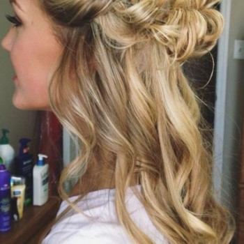 2016 Half Up Half Down Prom Hairstyles 7
