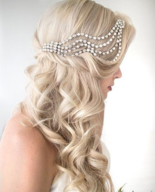 Bridal Hairstyles 2016: 2016 Half Up Half Down Prom Hairstyles