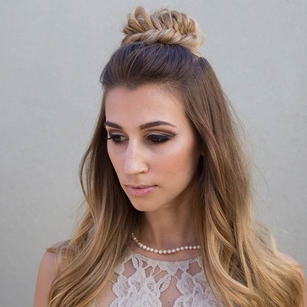 2016 Half Up Half Down Prom Hairstyles - Fashion Trend Seeker