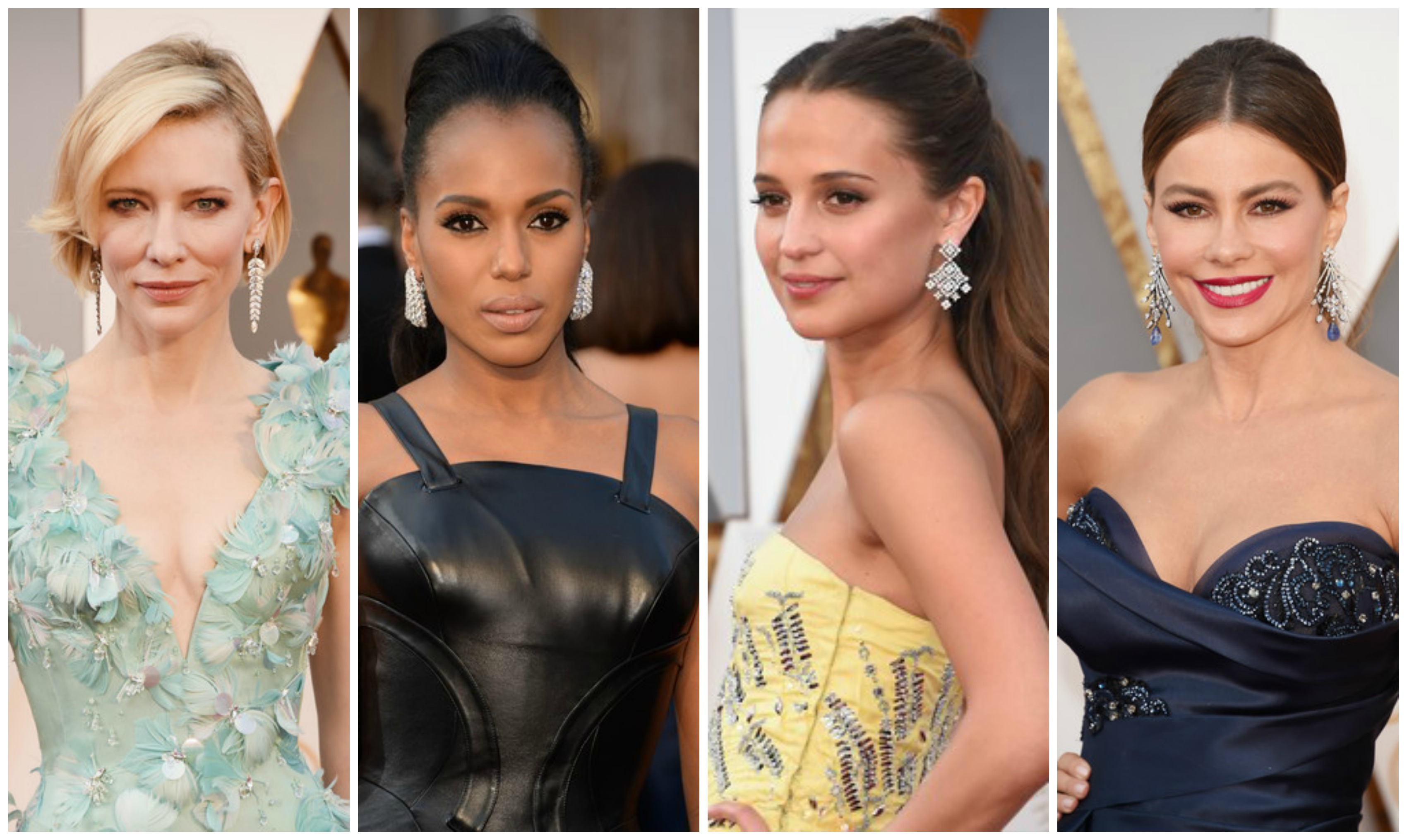 Best Hairstyles & Makeup Looks From The 2016 Oscars Awards main