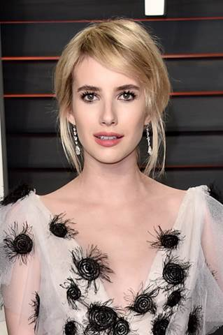 Emma Roberts at the Vanity Fair 2016 Oscar Party