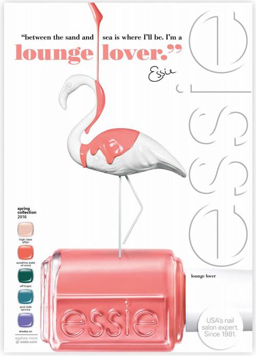 Essie Lounge Lover Spring 2016 Nail Polish Collection - Fashion Trend Seeker