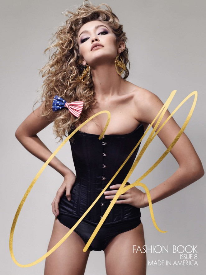 Gigi Hadid Poses for CR Fashion Book Issue 8