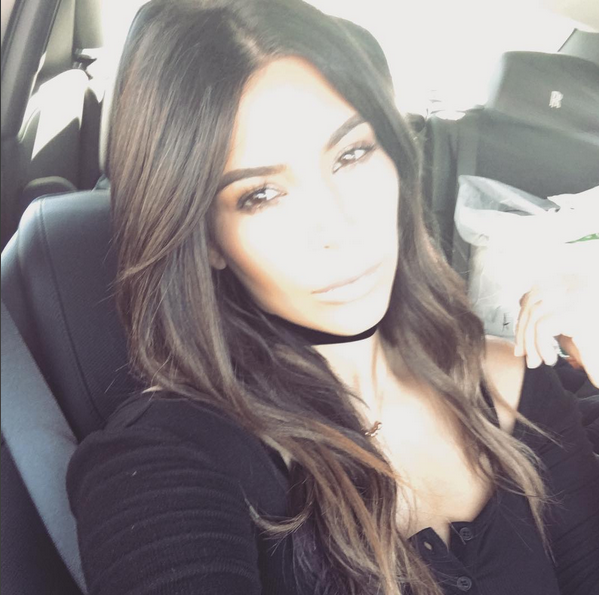 Kim Kardashian Goes Back To Ombré Trend With Shorter Strands 2