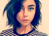 Sarah Hyland Pops On Instagram To Show Off New Darker Hair and Bob Haircut!