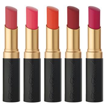 Too Faced La Matte Color Drenched Matte Lipstick for Spring 2016 2