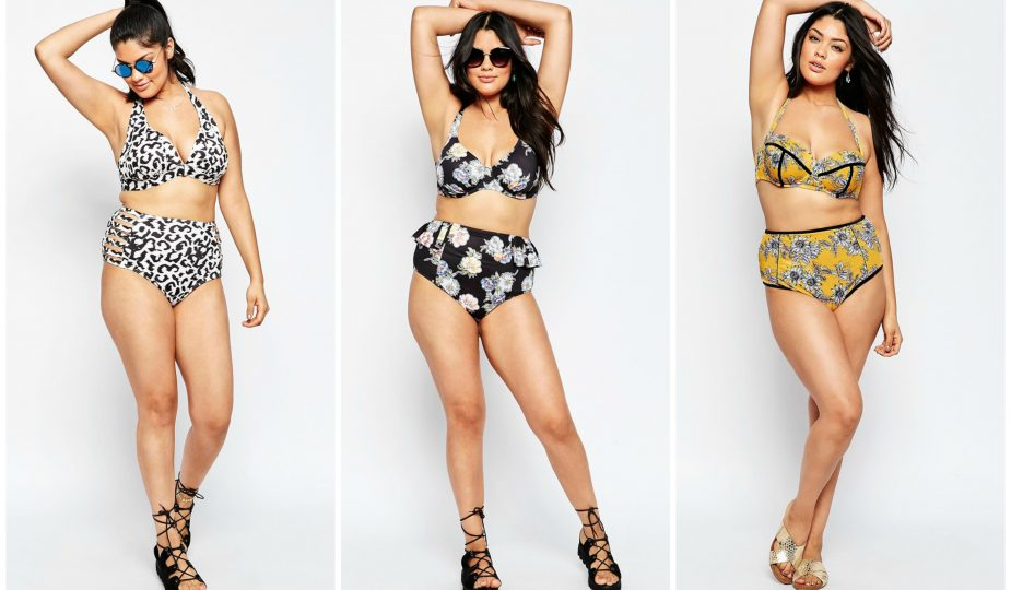 f63d0d0c1c7a 2016 Plus Size Swimwear Trends For The Non Boring Curvy Girl. Plan on  showing off your curvy frame on the beach this summer  Than you ll need a  fabulous ...