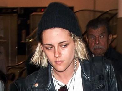 Kristen Stewart With Hair Platinum Blonde Hair Color