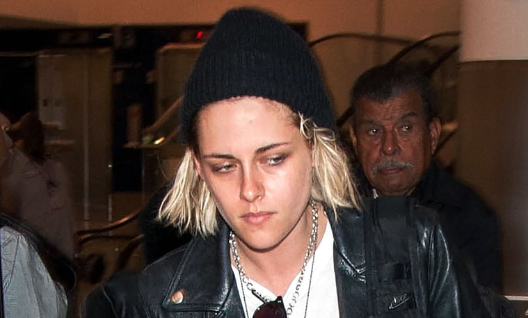 Kristen Stewart With Hair Platinum Blonde Hair Color