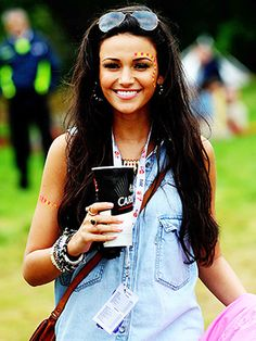 Michelle Keegan V Festival 2012 held at Weston Park - Performances - Day One Staffordshire, England - 18.08.12 Featuring: Michelle Keegan Where: Staffordshire, United Kingdom When: 18 Aug 2012 Credit: WENN **Not available for publication in UK Tabloids**