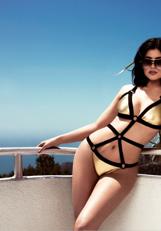 Kendall & Kylie Jenner Show Off Bikini Photos From Their New Topshop Swimwear 2016 Collection 7