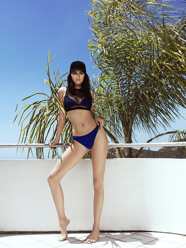 Kendall & Kylie Jenner Show Off Bikini Photos From Their New Topshop Swimwear 2016 Collection new 6