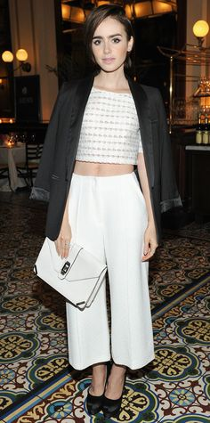 attends the CFDA Vogue Fashion Fund Dinner at Bouchon Beverly Hills on October 20, 2015 in Beverly Hills, California.