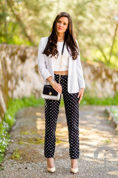 Now Trending - Cropped Tops Paired With Blazers 17