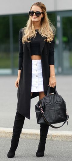 Now Trending - Cropped Tops Paired With Blazers 5