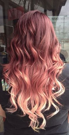 Rose Gold Hair Color 15