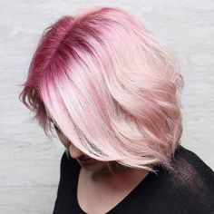Rose Gold Hair Color 2