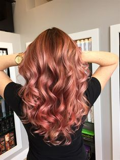 Rose Gold Hair Color 3