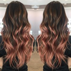 Rose Gold Hair Color 8