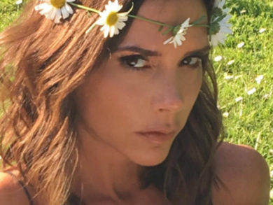 Victoria Beckham Debuts Sultry Lob Hairstyle