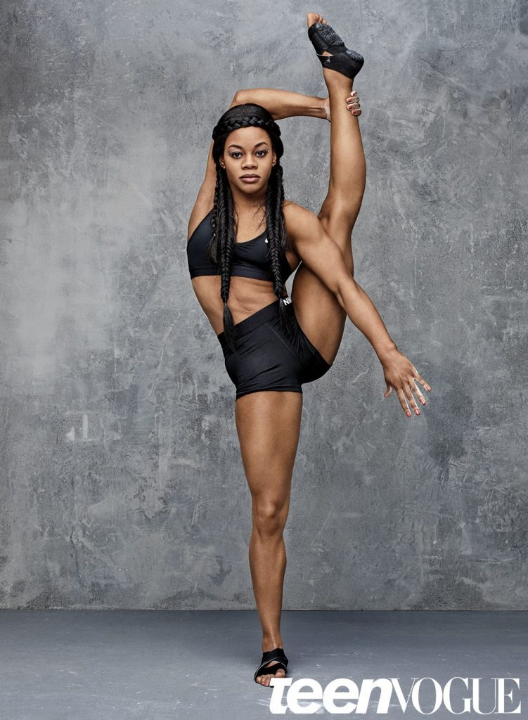 Teen Vogue Features USA Gymnasts Gabby Douglas & Simone Biles!  3