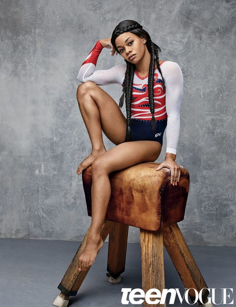 Teen Vogue Features USA Gymnasts Gabby Douglas & Simone Biles!  4