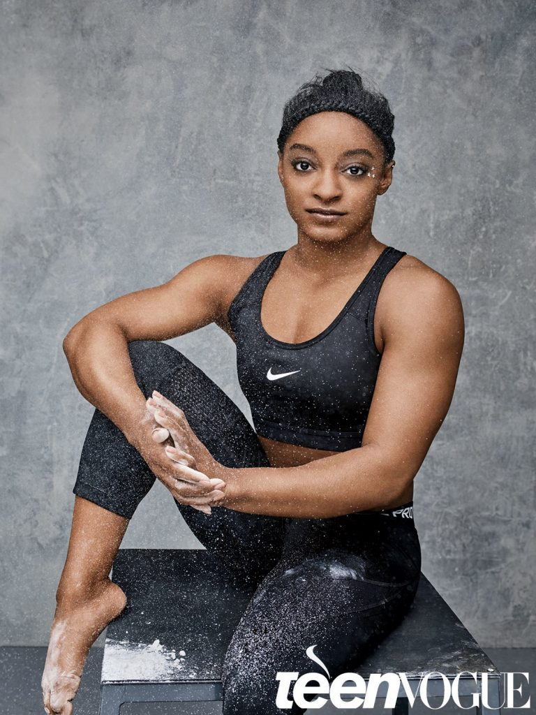 Teen Vogue Features USA Gymnasts Gabby Douglas & Simone Biles!  5