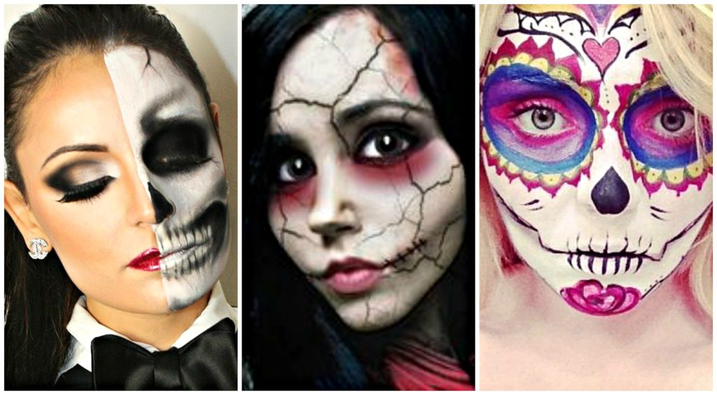 2016 diy halloween makeup ideas main