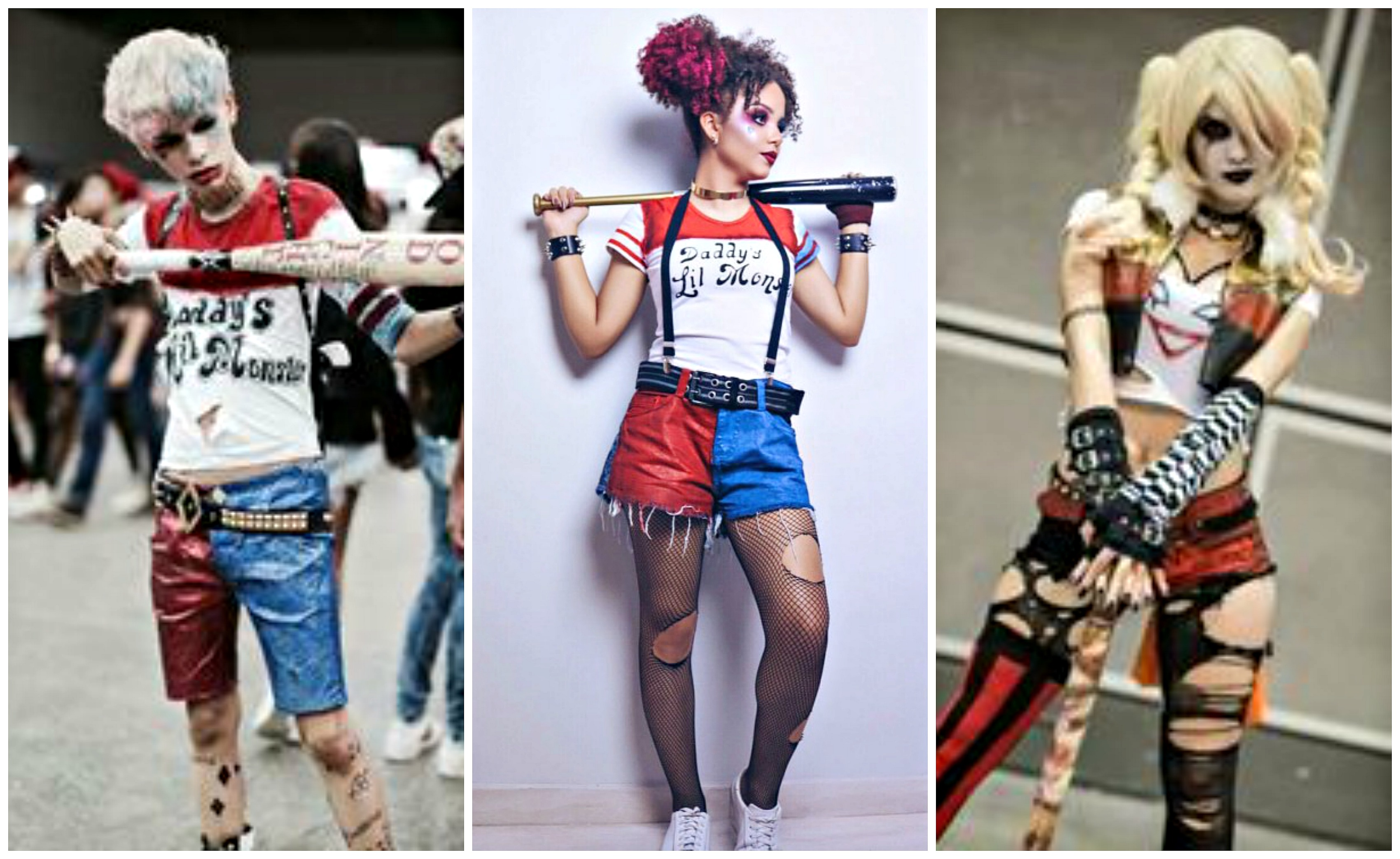 One Of A Kind Best Diy Harley Quinn From Suicide Squad