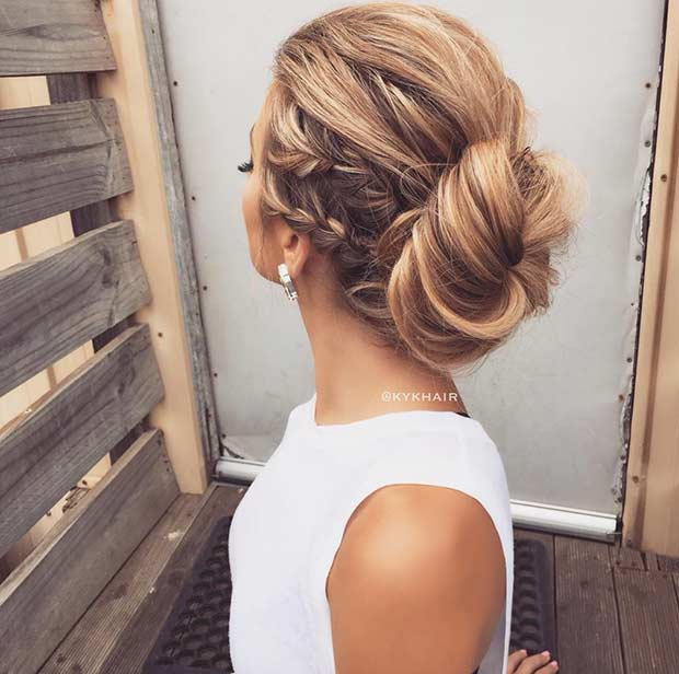 Prom Hairstyles Down 2017 : Prom hair trends fashion trend seeker