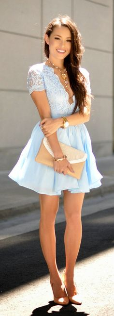 2017 Spring and Summer Dress Trends Lookbook 14